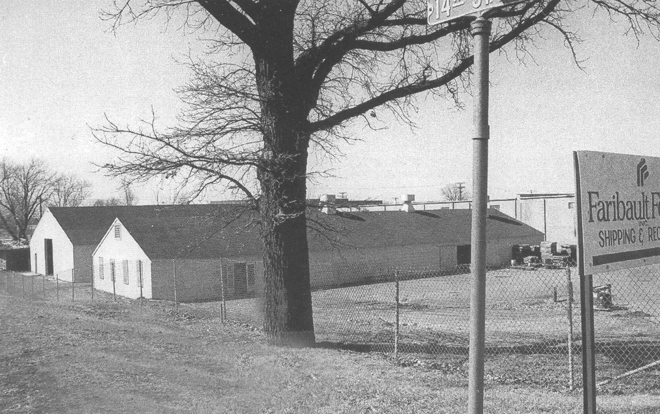 Faribault Canning Company barracks