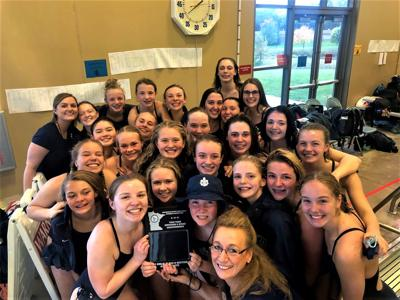 St. Peter swim team section runner-up