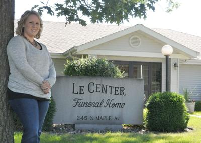 Le Center Funeral Home Hires New Director For First Time In 25 Years