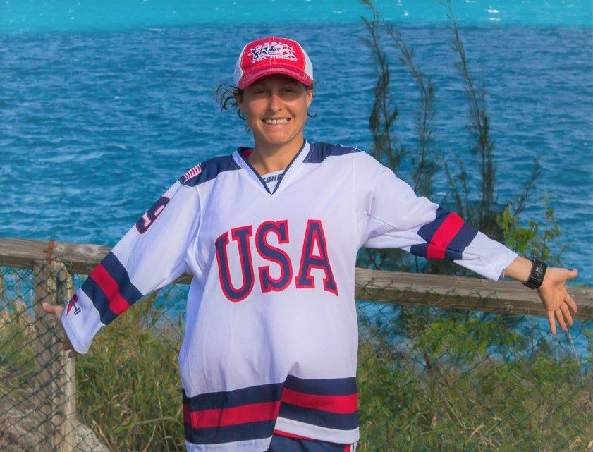 St. Peter native plays women's hockey at 40th Annual Empire State Winter Games