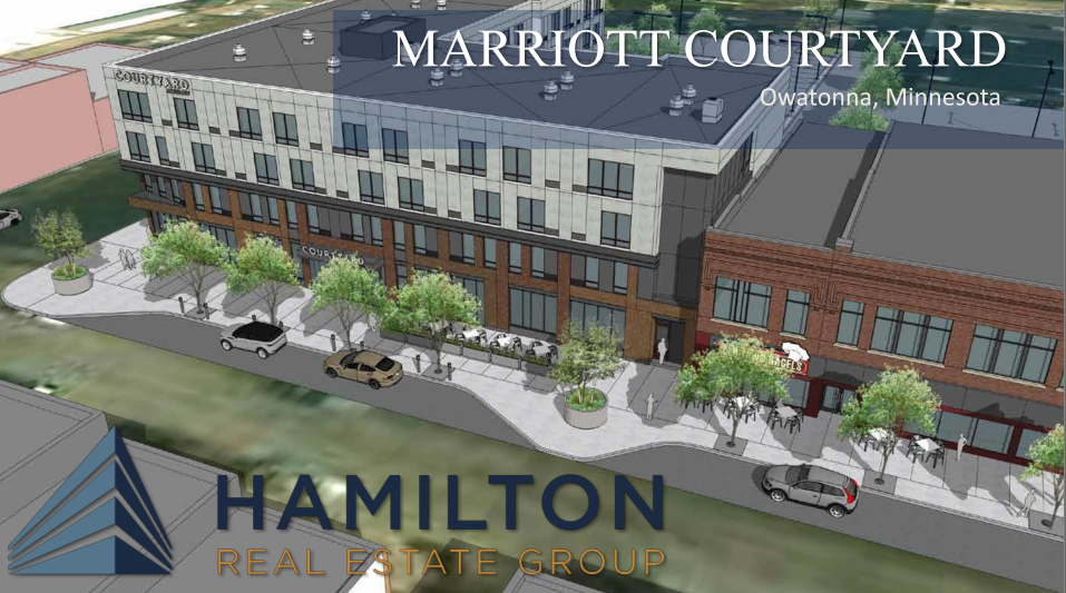 Marriott Courtyard downtown Owatonna