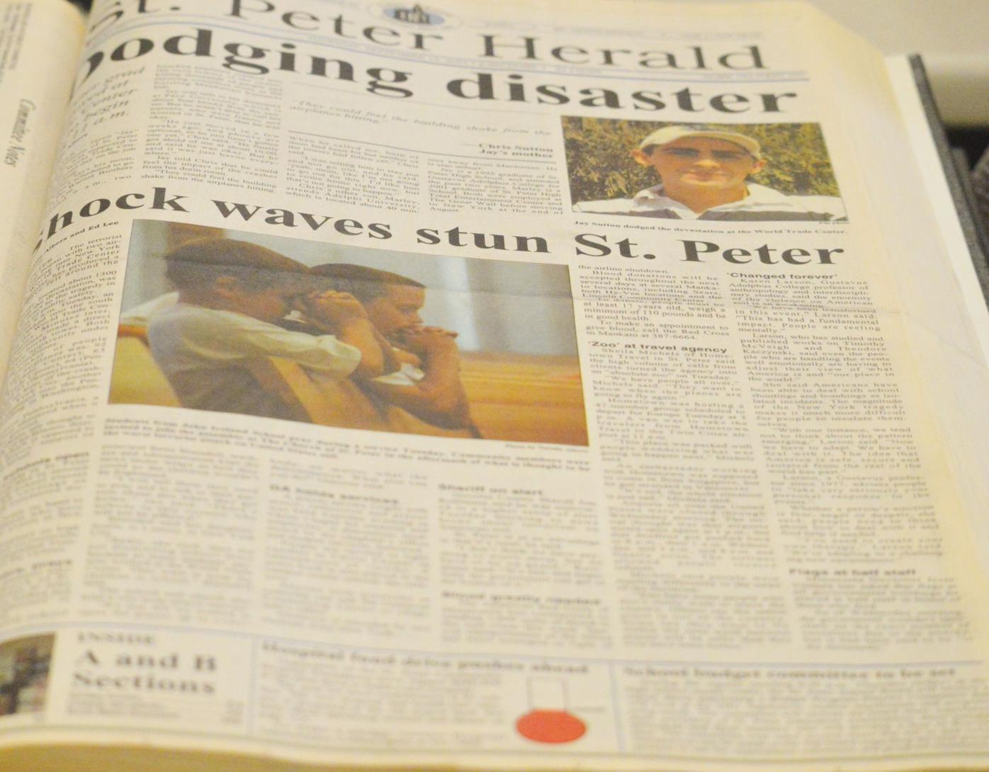 9/11 St. Peter Herald