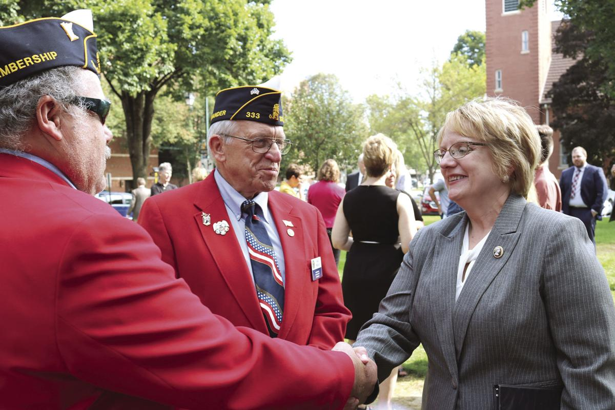 Invisible Wounds: Steele County hosts ribbon cutting for Veterans Treatment Court in third judicial district