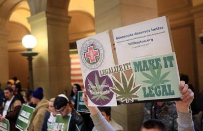 Legal marijuana rally