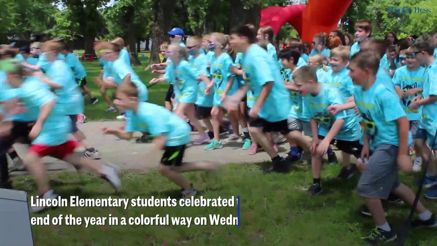 Lincoln Elementary Color Run 2021
