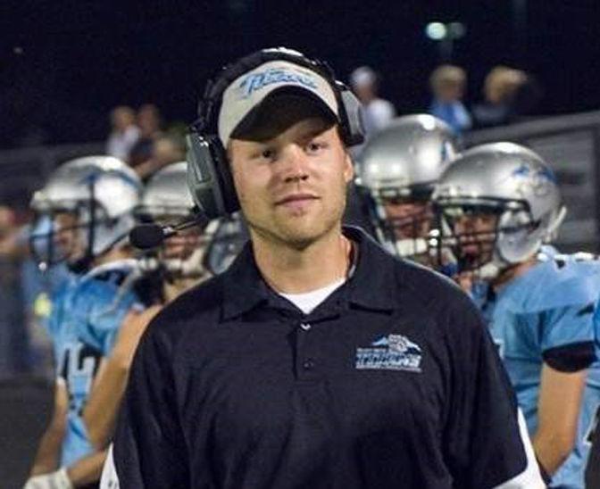 Matt Collins coaching sidelines