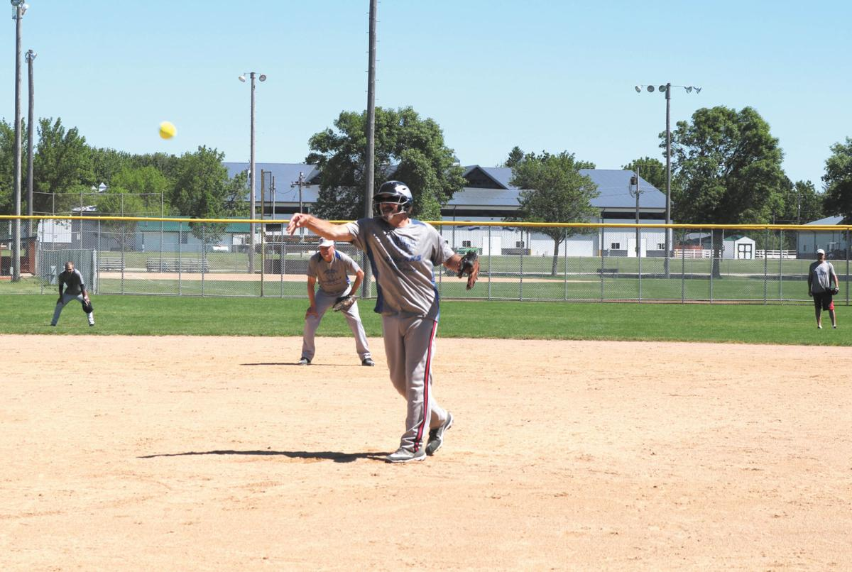 Seniors take summer: Softball gives those 55+ another team experience
