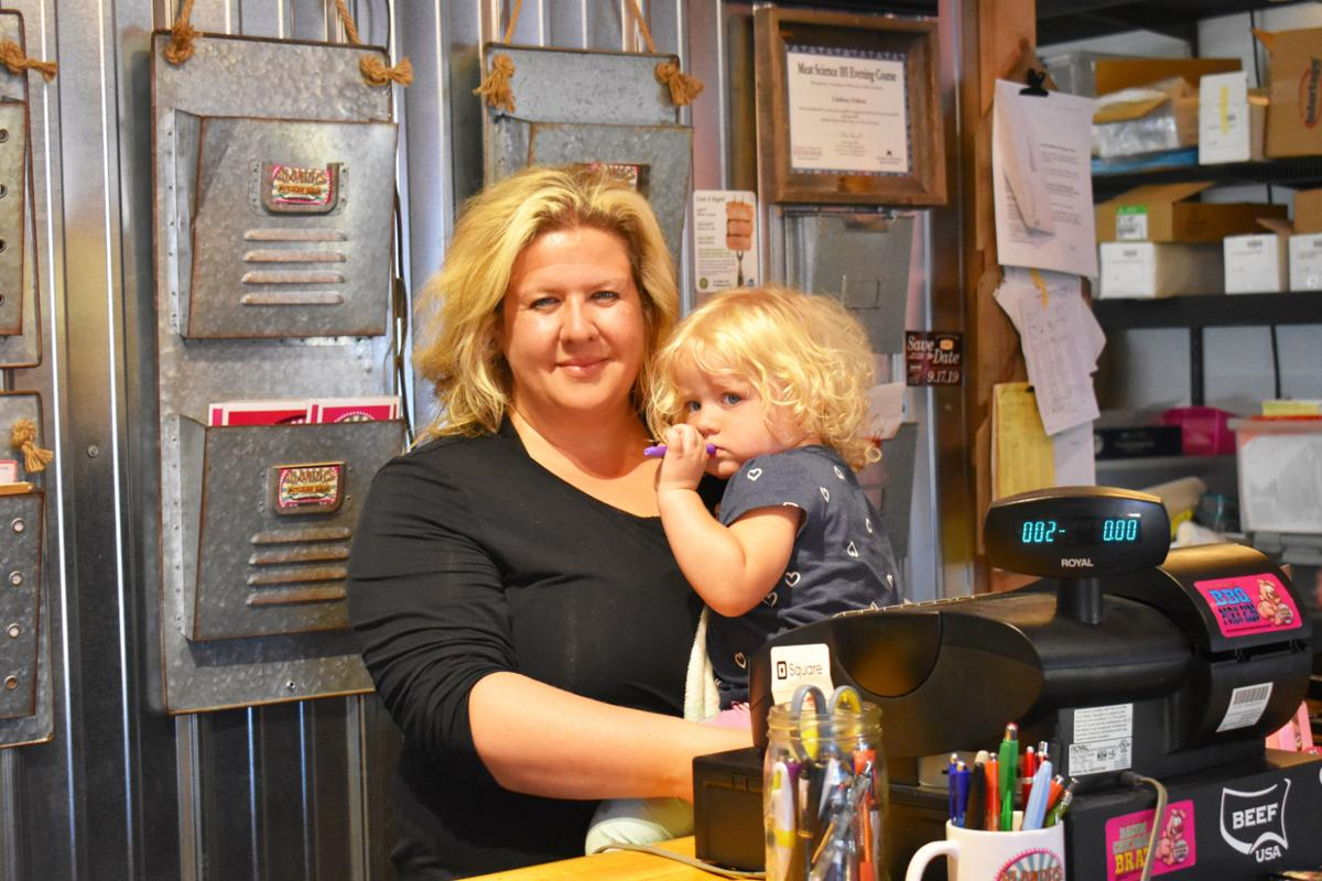 Wanamingo's pink butcher shop brings new twists to an old trade