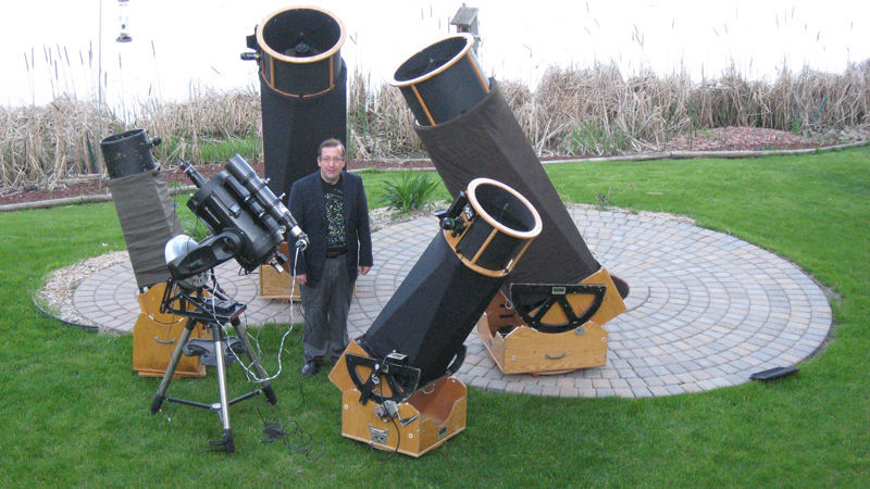 mike lynch telescope