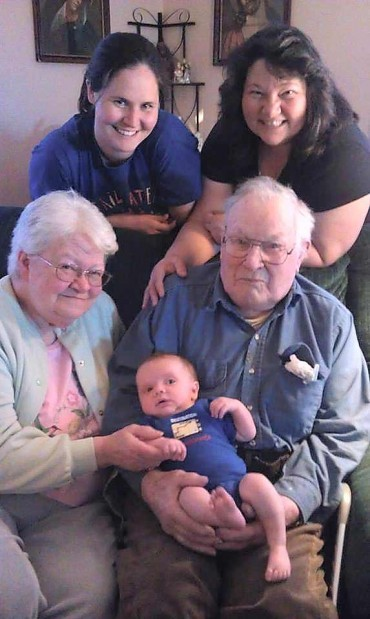 5 Generations of the Gromelski Family Owatonna Owatonna Peoples