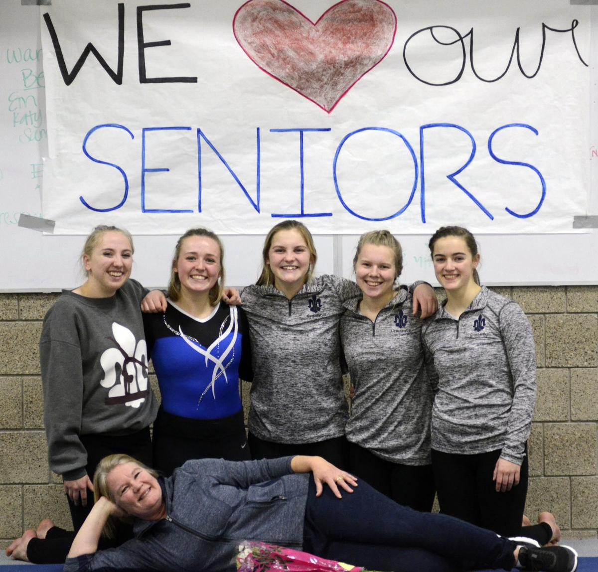 St. Peter gymnastics team hits season high in topping New Ulm