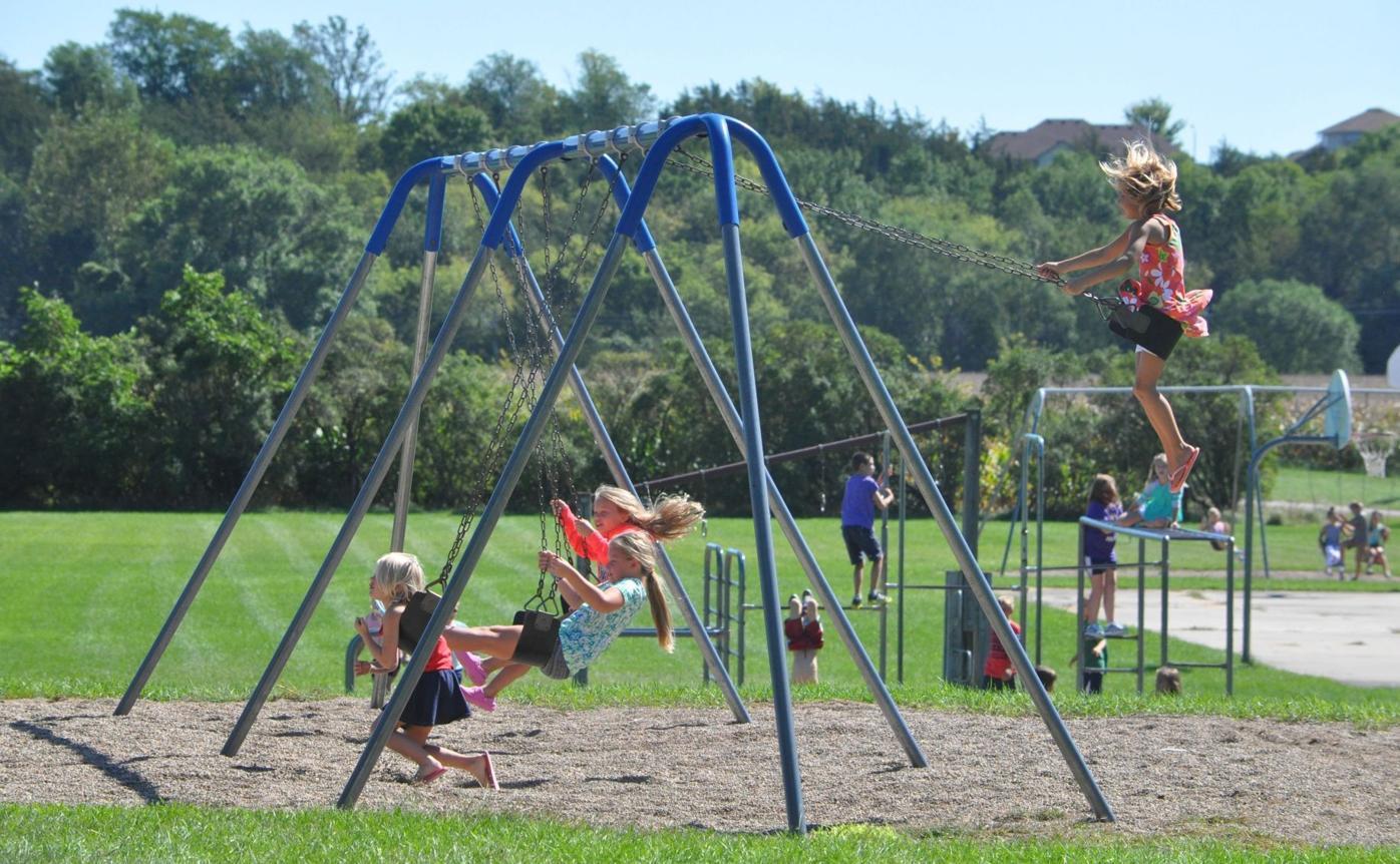 Le Sueur St. Anne's Catholic School Playground 2016