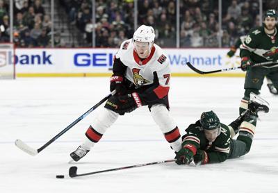 Senators Wild Hockey