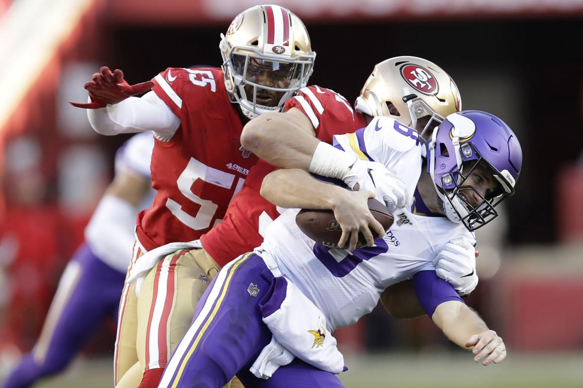 APTOPIX Vikings 49ers Football