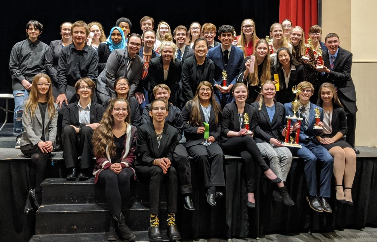 St. Peter speech team finishes first and second in recent tournaments