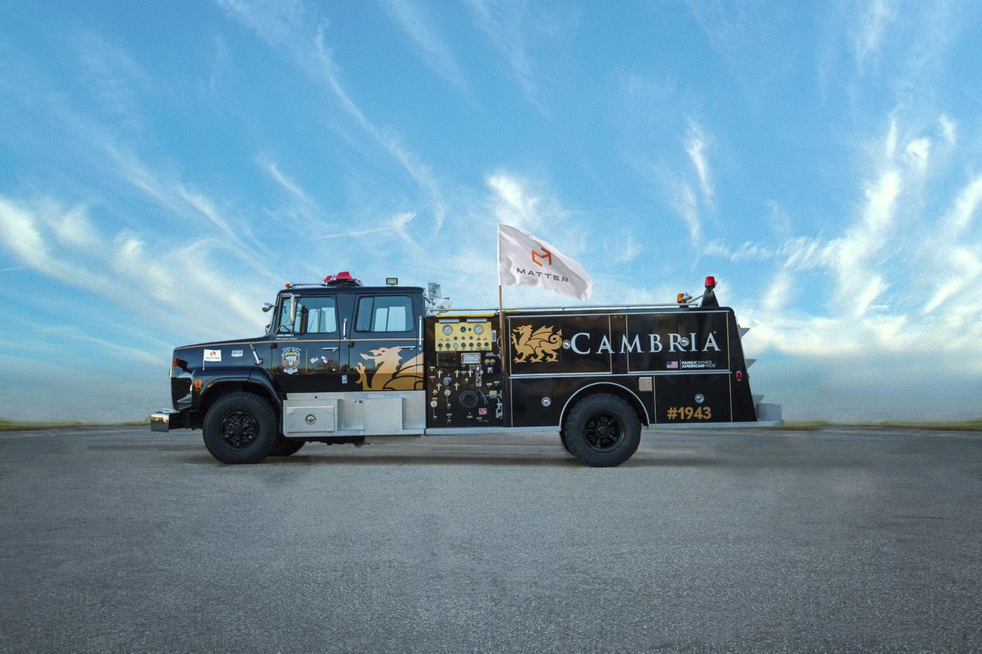Cambria Firetruck 1