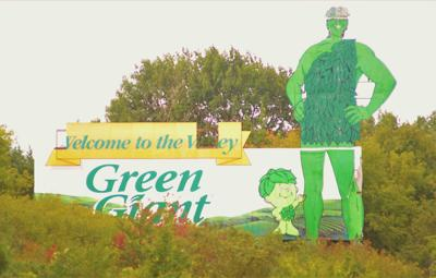 Green Giant Sign