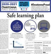 Owatonna Public Schools Education Information 2020-2021