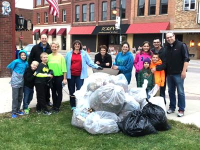 Downtown clean up