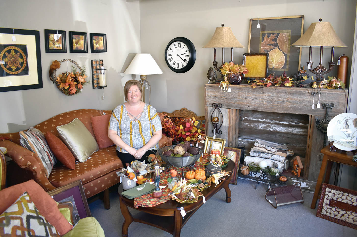 Kala Linder Has Been The New Owner Of The Rustique Consignment Store In  Downtown Owatonna For One Month, Helping People Sell Items And Clothes They  No ...