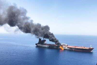 Militarized Persian Gulf Iran