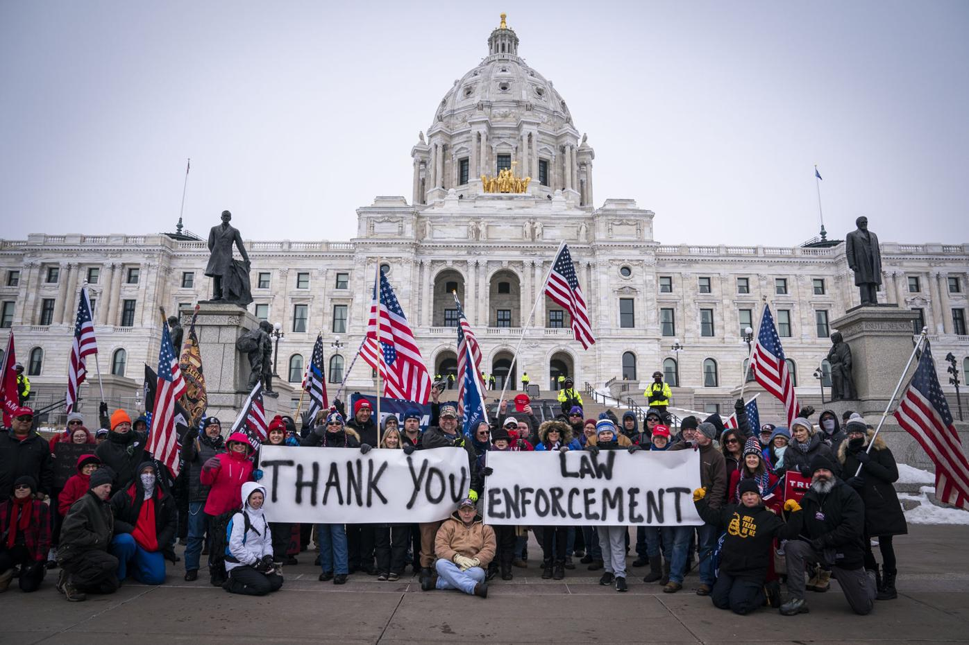 Electoral College-Protests-Minnesota