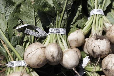 Organic crops