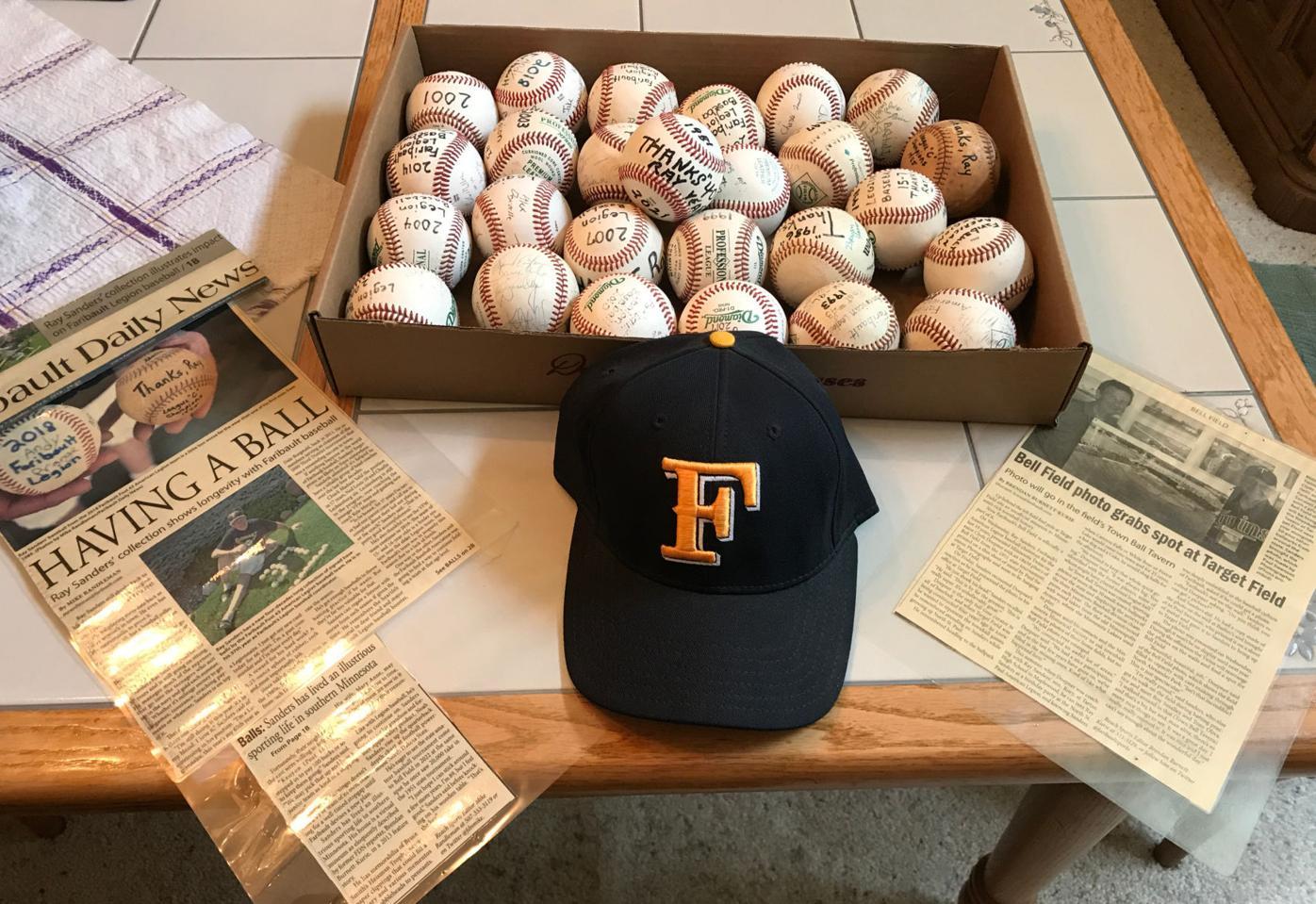 ray sanders baseballs
