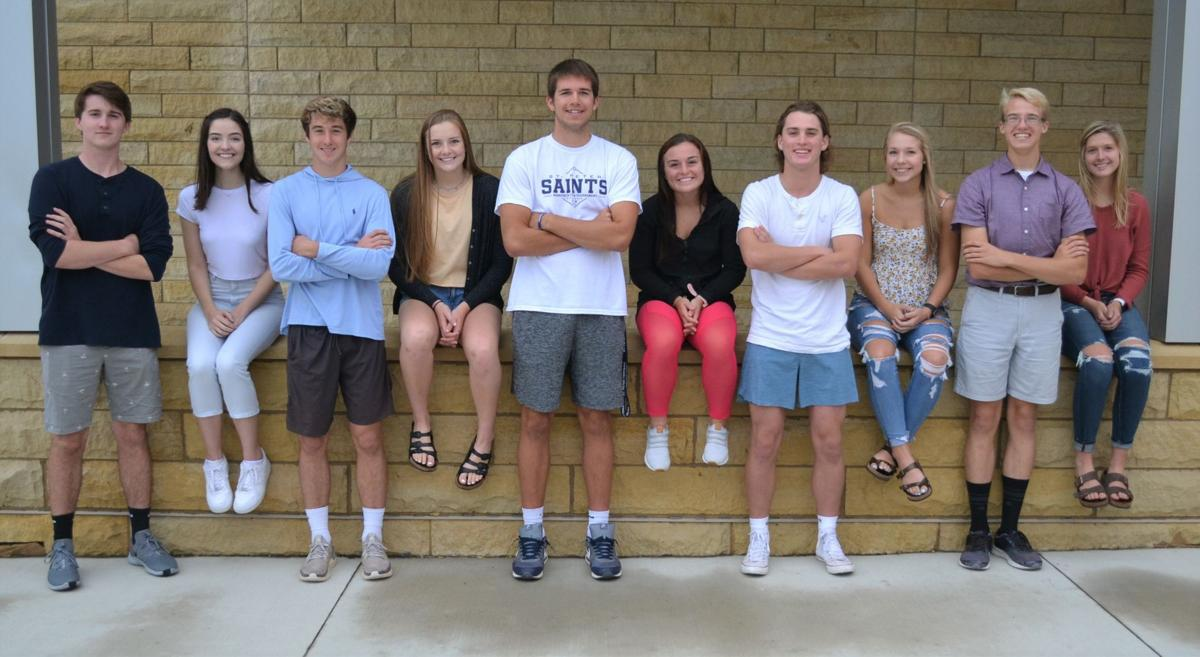 St. Peter Homecoming Candidates