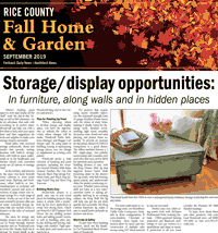 Rice County Fall Home and Garden 2019