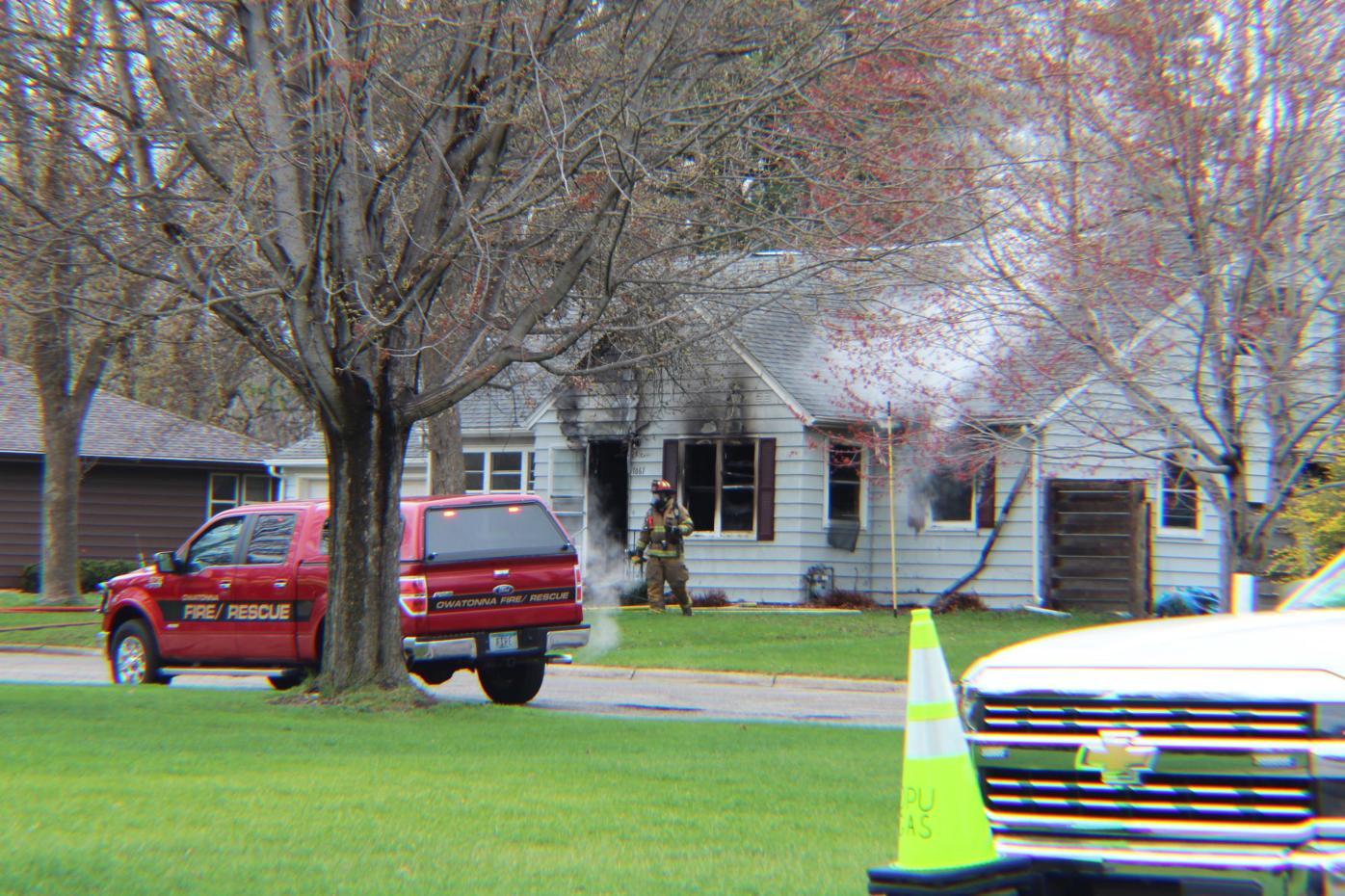 April 12 2021 Owatonna house fire 2