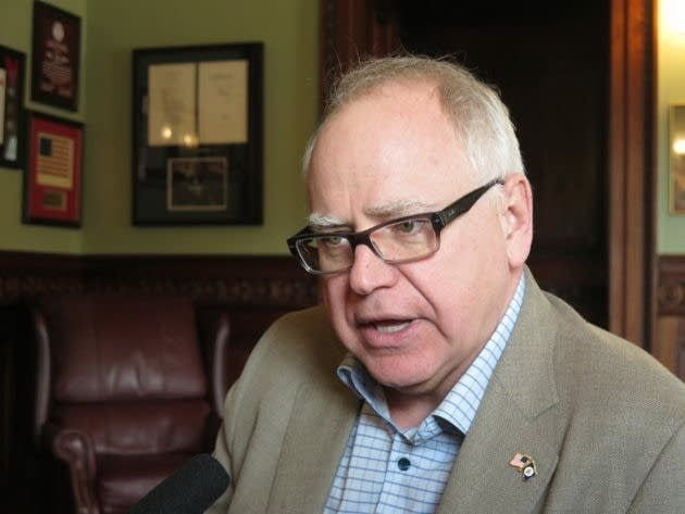 Walz budget: big gas tax hike, more spending on schools, health care