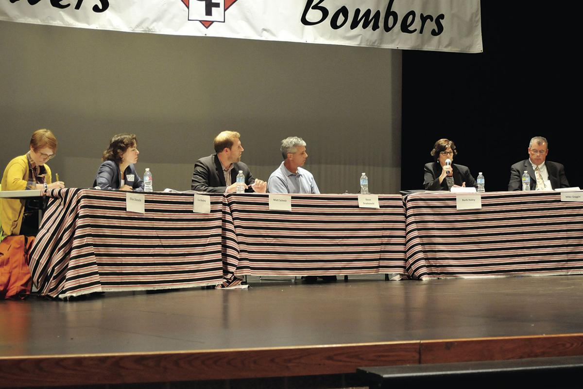 Candidate forum panel