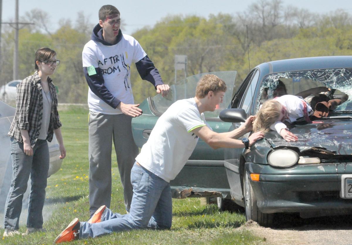 Horrific Car Accident Aftermath