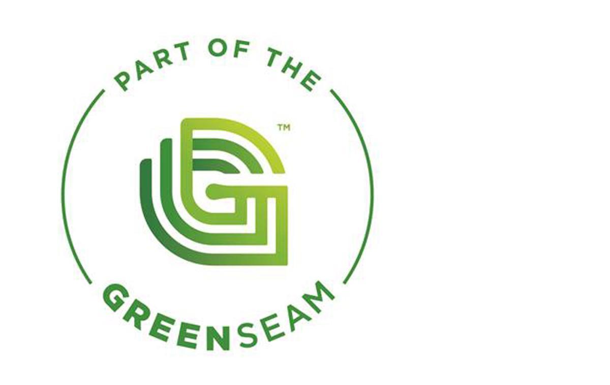 Green Seam logo