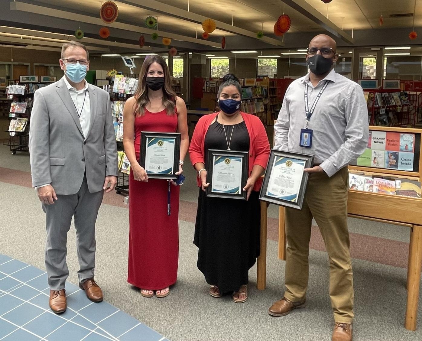 Excellence in Communication Award Winners
