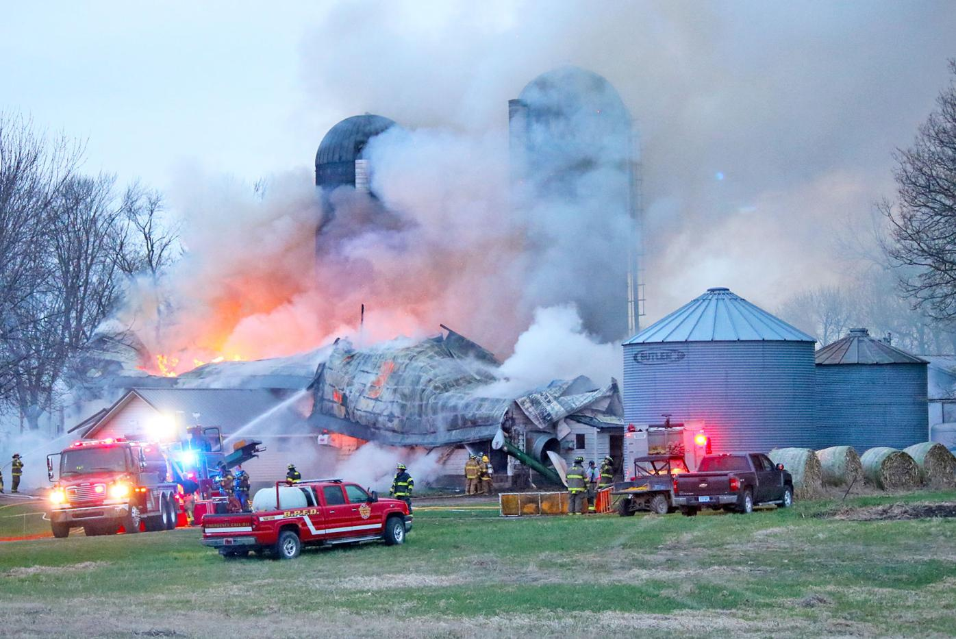 Seykora Dairy fire