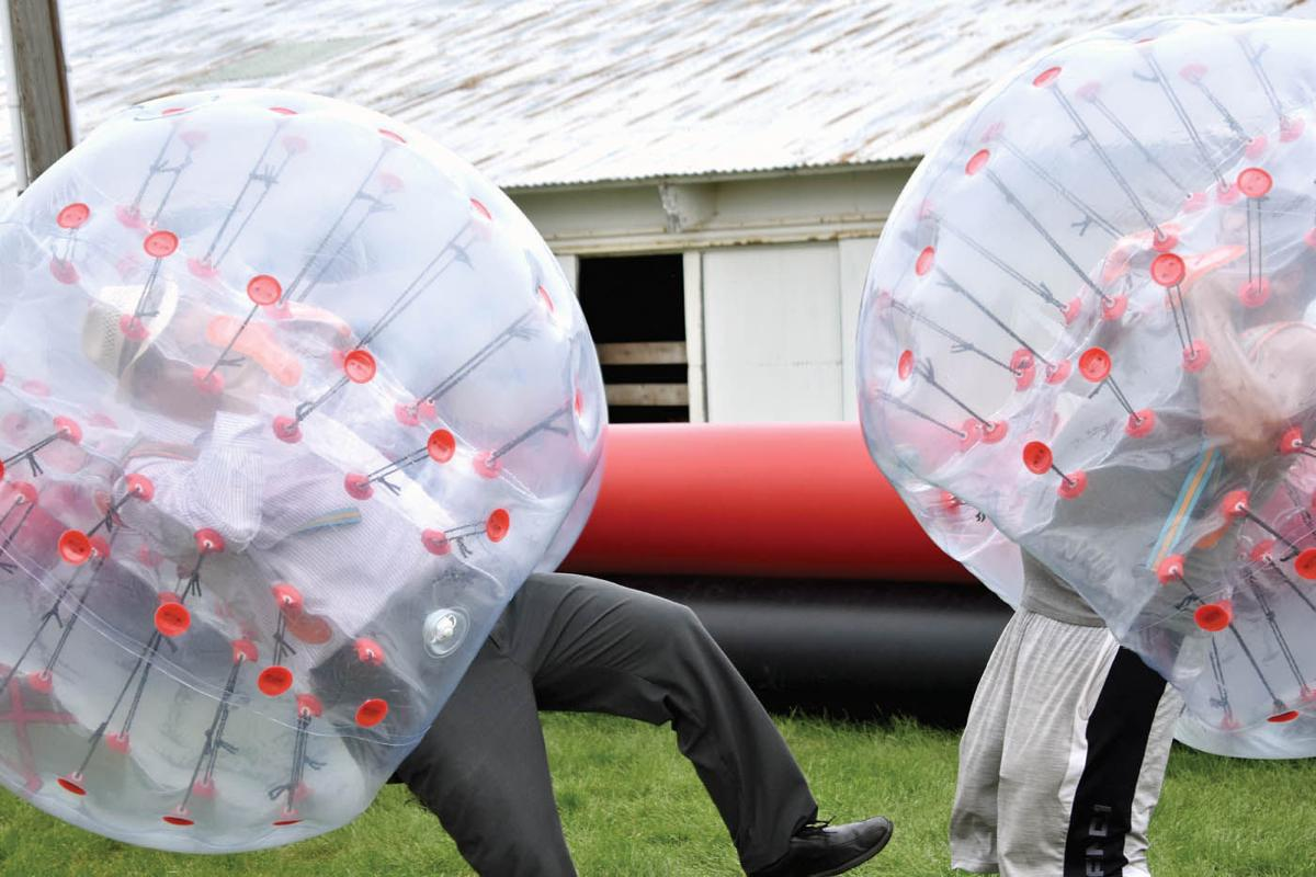 EDITOR'S PICK AT THE FAIR: XtremeBall proves extremely enjoyable, if you don't mind bouncing