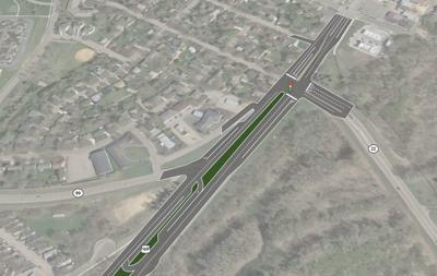 Hwy. 22/169 and Hwy. 22/99 intersections