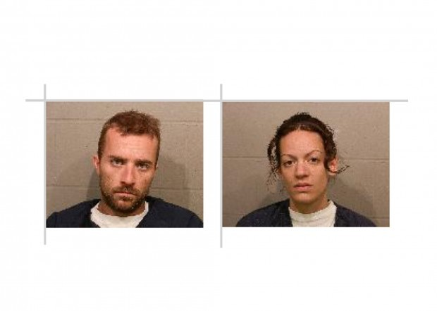 Two suspects arrested in old Kenyon High School copper theft