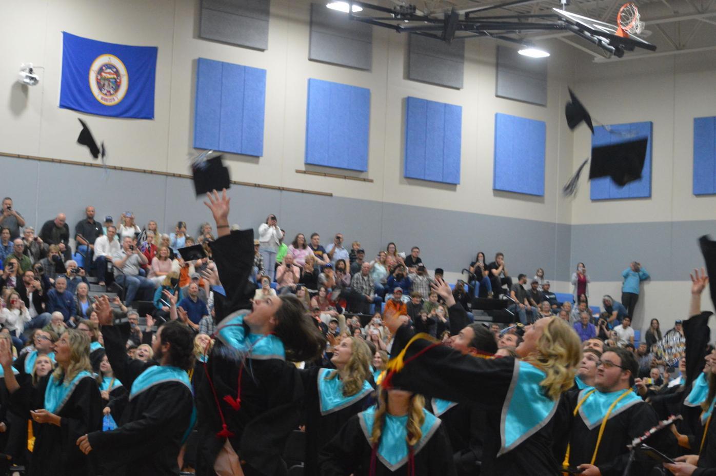 TCU Graduation hats