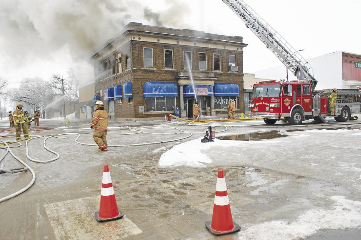 Early morning fire leaves The Bakery in Blooming Prairie 'a total loss'