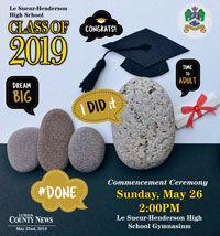 Le Sueur Graduation 2019