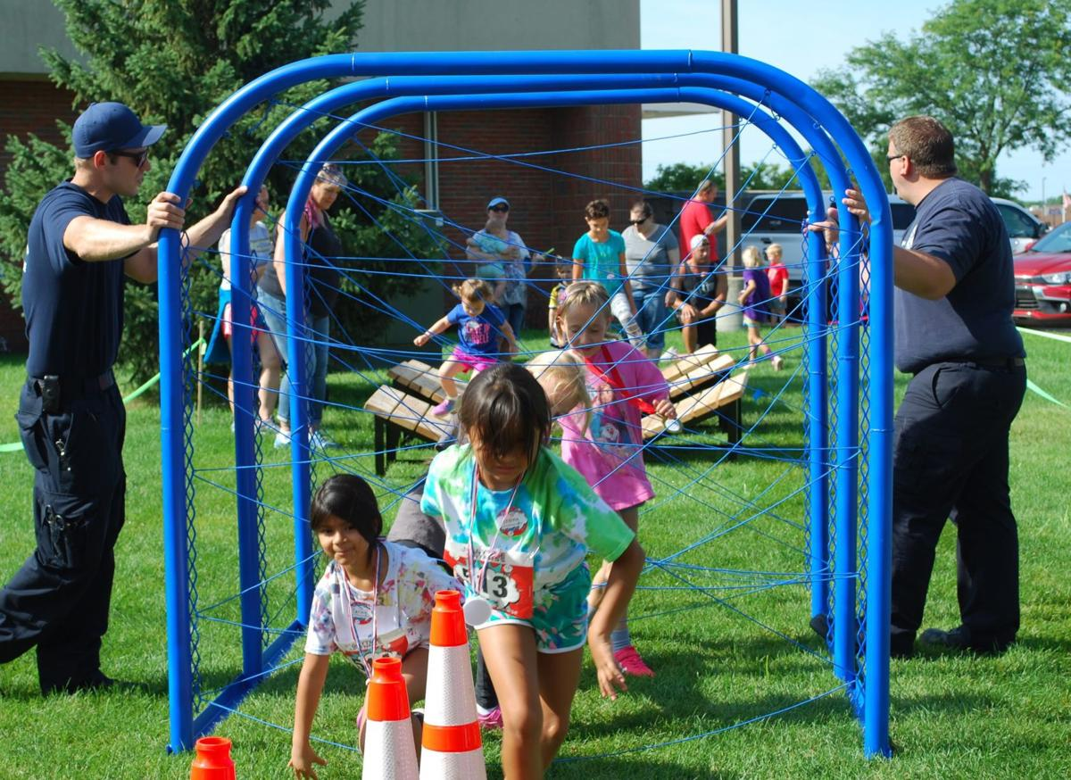 Kids Challenge Course raises $5,000 for Children's Miracle Network