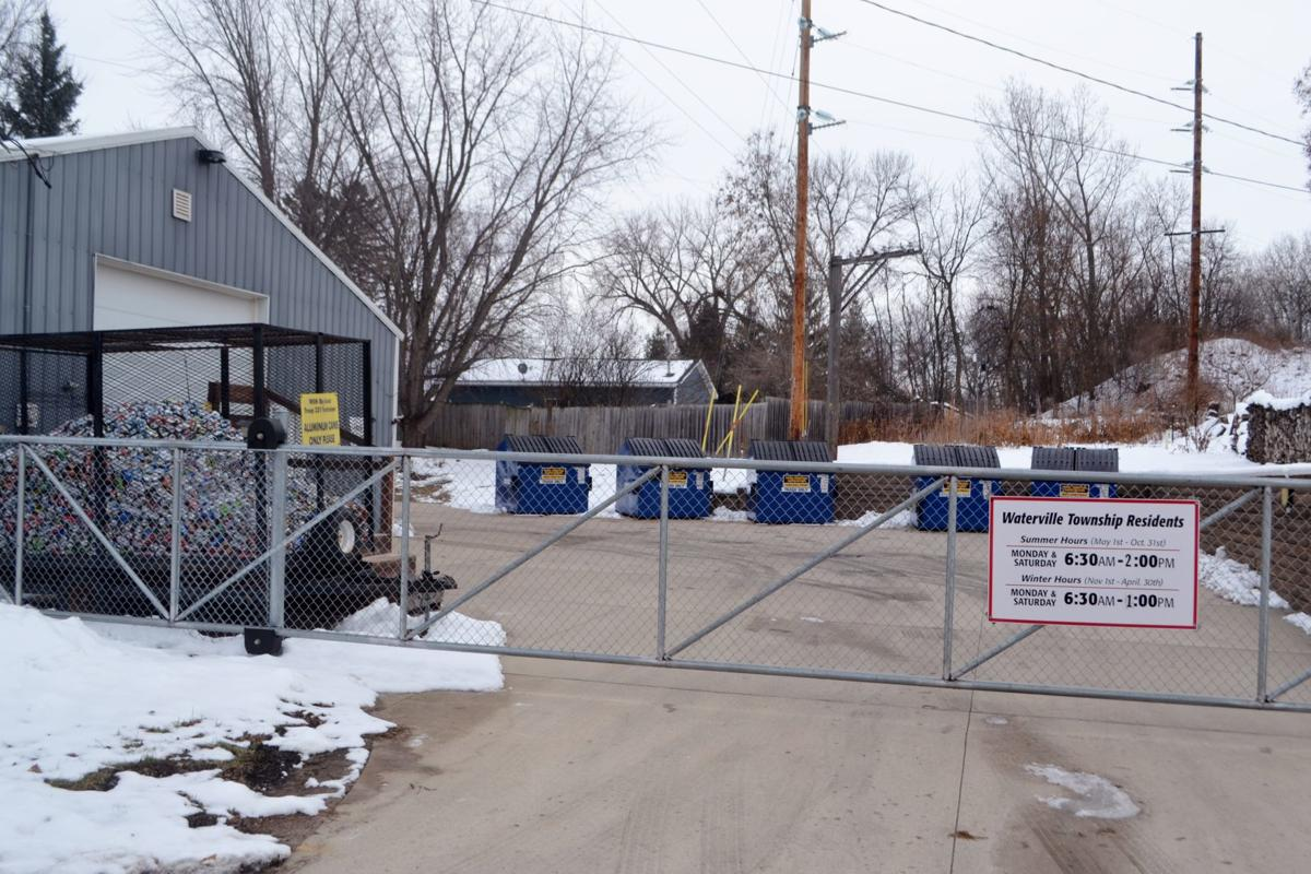 Le Sueur County partners with Waterville Township, opens up recycling center to county residents