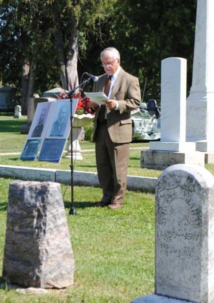 Graveside Memorial Service Marks Beginning Of 2012 Djjd Celebration In Northfield News Southernminn Com