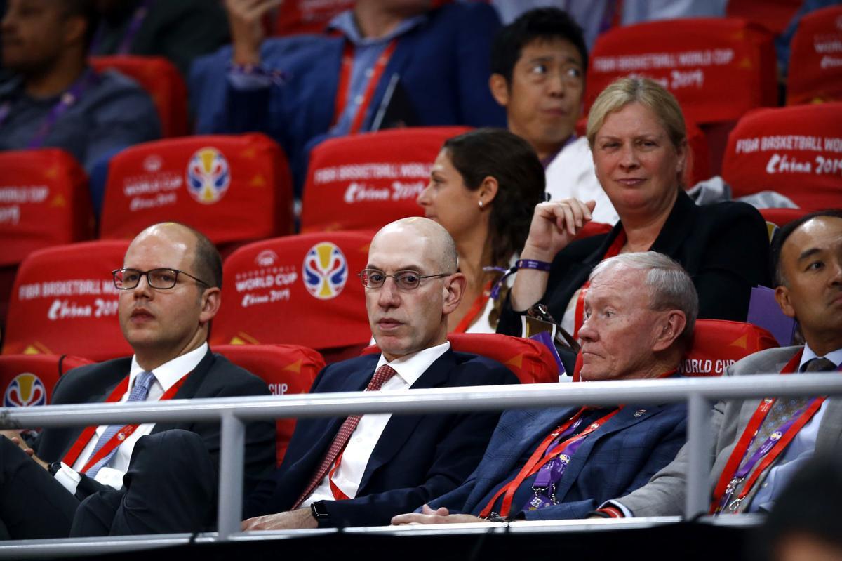 NBA China Relationship Basketball