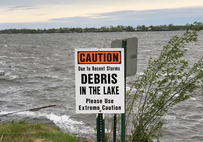 Roberds Lake debris