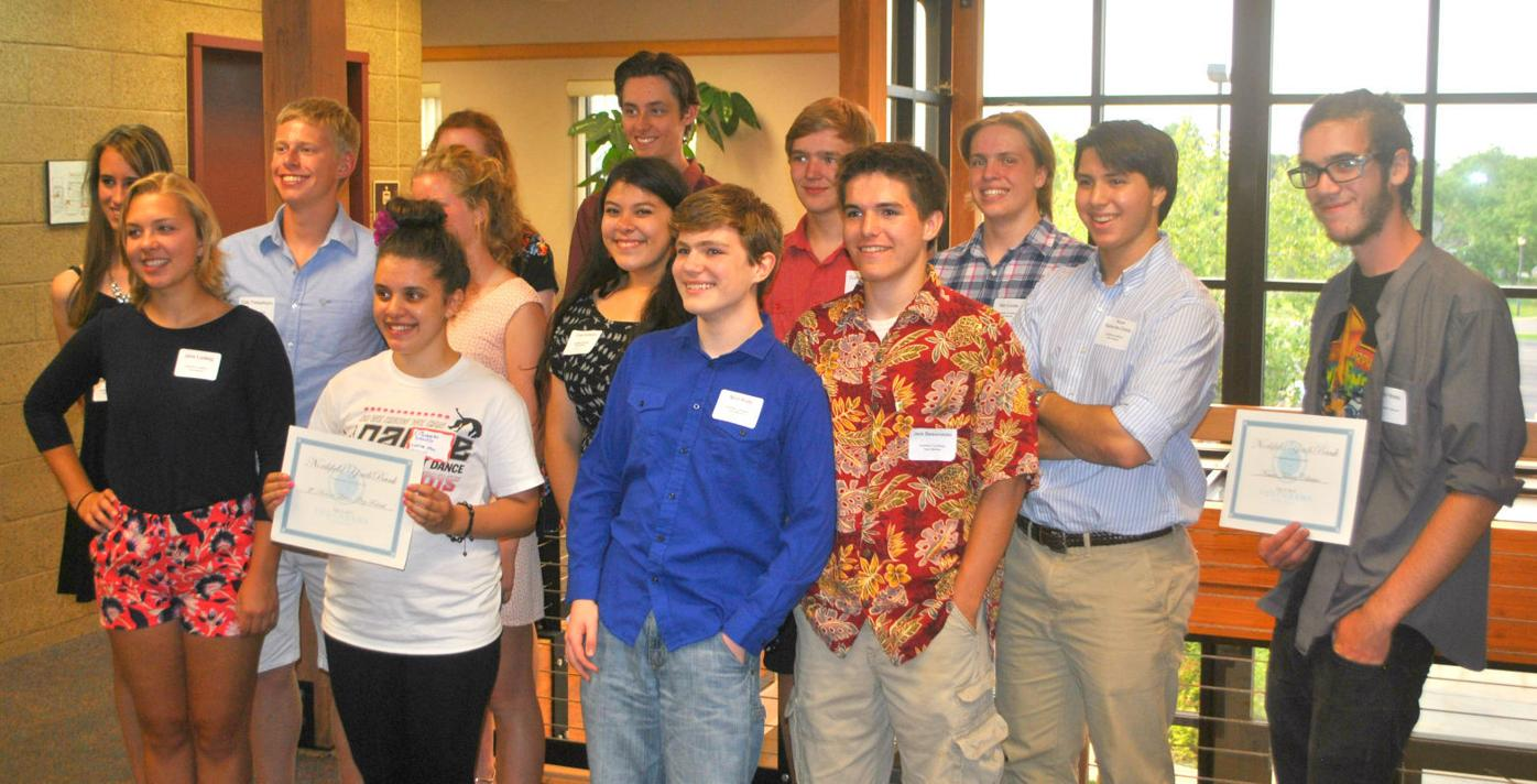 Youthbank members and grant recipients