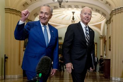 APTOPIX Biden Congress Infrastructure